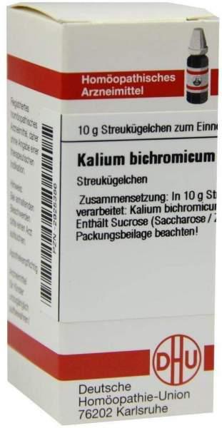Kalium Bichromicum D30 10 G Globuli
