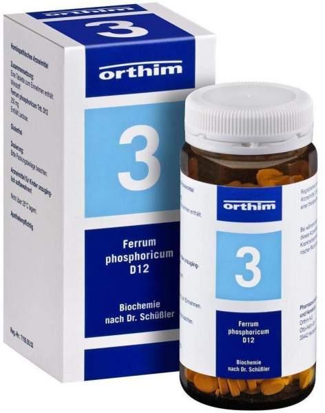 Biochemie Orthim 3 Ferrum Phosphoricum D 12 400 Tabletten