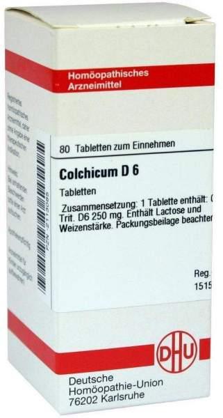 Colchicum D6 80 Tabletten