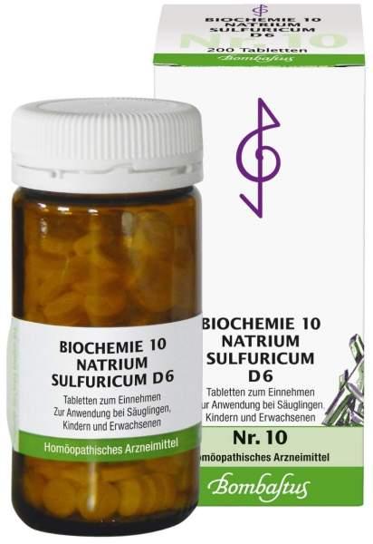 Biochemie Nr.10 Natrium sulfuricum D6 200 Tabletten