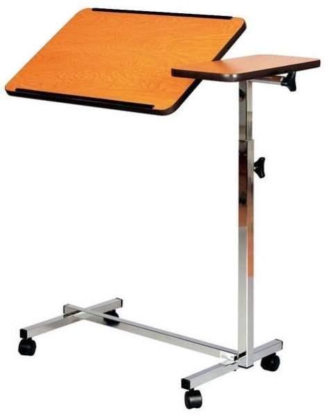 Betttisch mit flexibler Platte