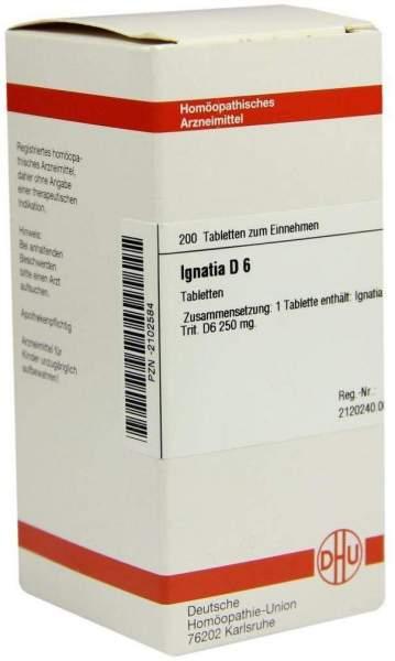 Ignatia D 6 200 Tabletten