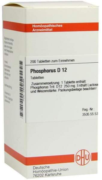 Phosphorus D12 Tabletten 200 Tabletten