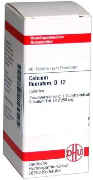 Calcium Fluoratum D12 80 Tabletten