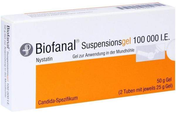 Biofanal Suspensionsgel 50 G Gel