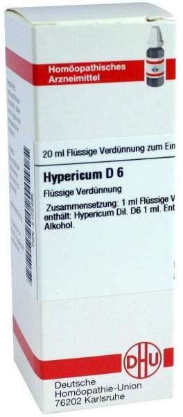 Hypericum D6 Dilution 20 ml Dilution