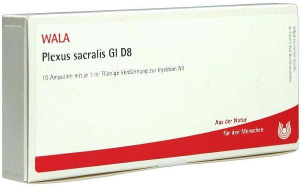 Plexus Sacralis Gl D 8 Ampullen 10 X 1 ml