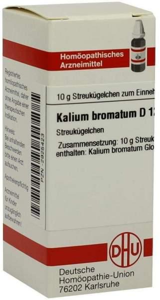 Kalium Bromatum D12 10 G Globuli