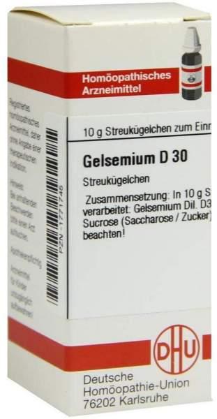 Gelsemium D30 10 G Globuli