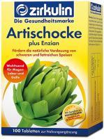 Zirkulin Artischocke plus Enzian Tabletten 100 Tabletten