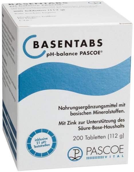 Basentabs Ph Balance Pascoe Tabletten 200 Stück