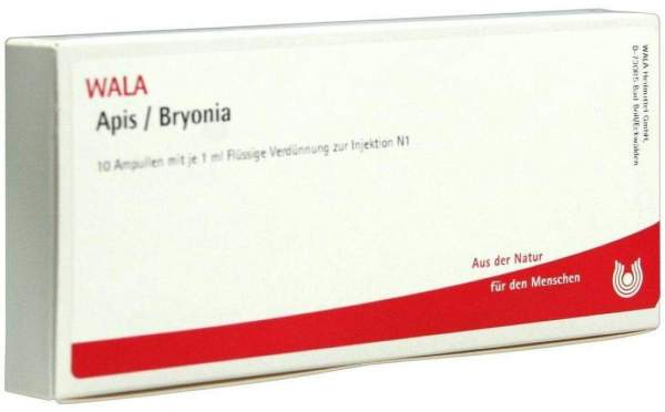 Apis Bryonia Ampullen 10 X 1 ml