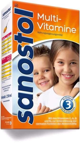 Sanostol Multivitamin Saft 460 ml