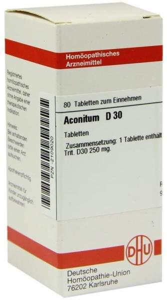 Aconitum D30 80 Tabletten