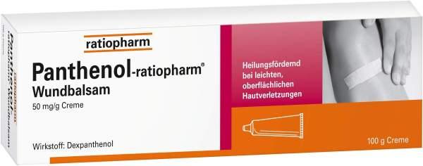 Panthenol-ratiopharm Wundbalsam 100 g Creme