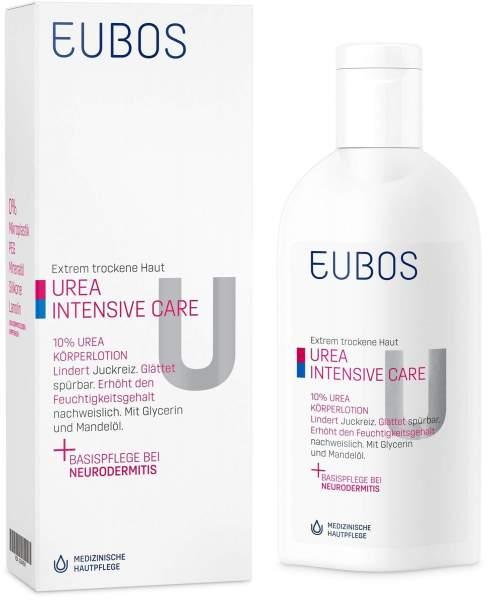 Eubos trockene Haut Urea 10% 200 ml Körperlotion