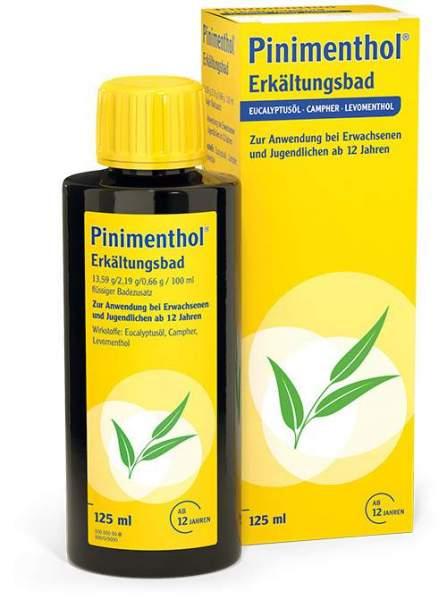 Pinimenthol Erkältungsbad 125 ml