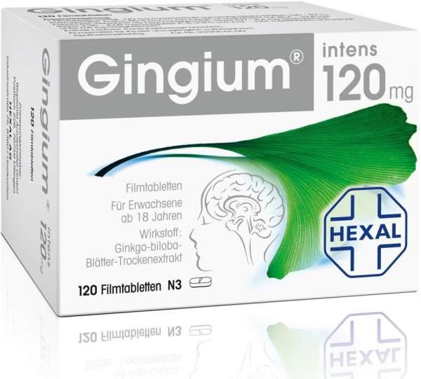 Gingium intens 120 mg 120 Filmtabletten