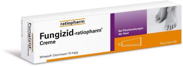 Fungizid ratiopharm 50 g Creme