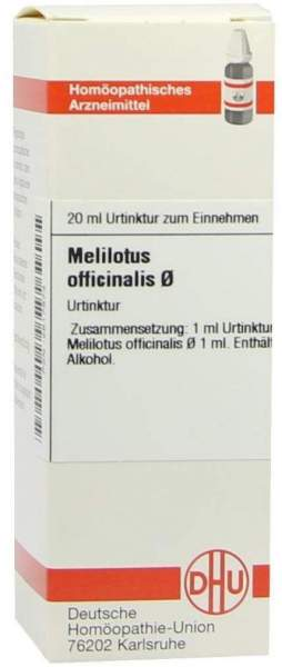 Melilotus Officinalis Urtinktur 20 ml Dilution