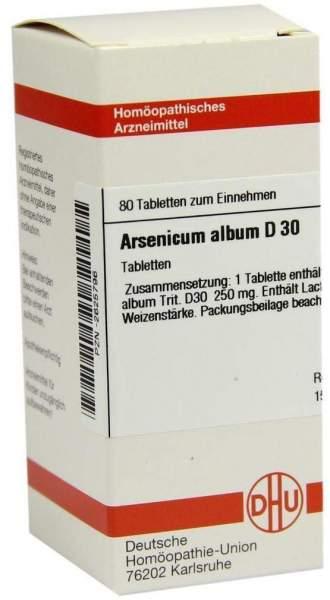 Arsenicum Album D 30 80 Tabletten