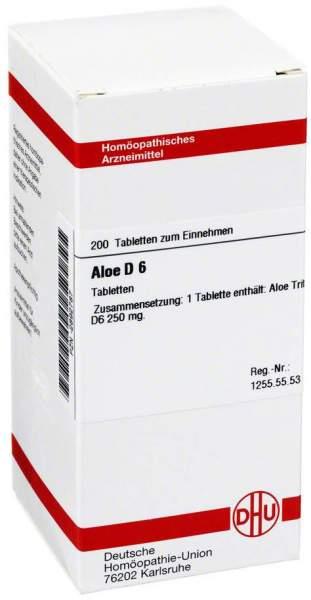 Aloe D 6 200 Tabletten