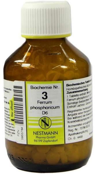Biochemie Nestmann 3 Ferrum Phosphoricum D6 400 Tabletten