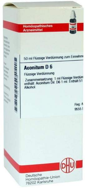 Aconitum D6 50 ml Dilution