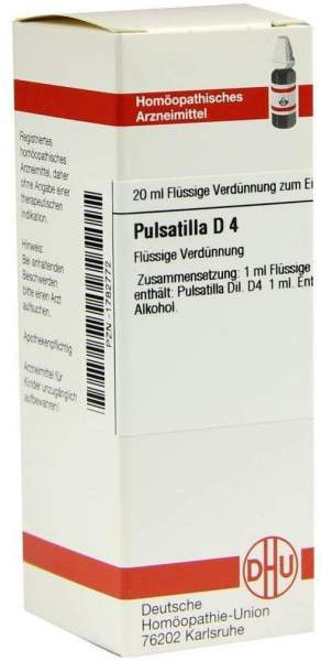Pulsatilla D4 Dilution 20 ml Dilution
