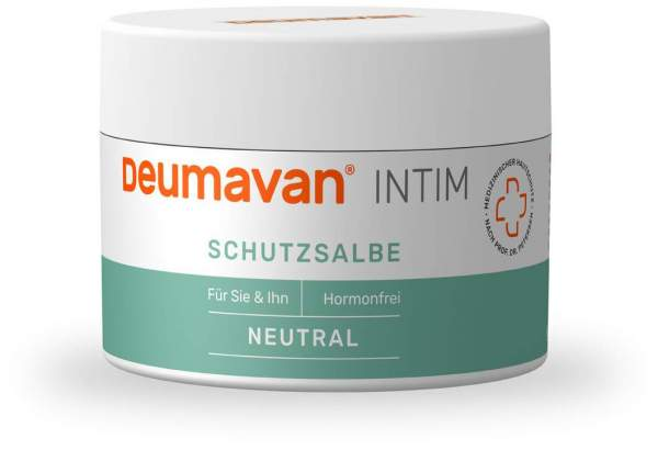 Deumavan Schutzsalbe Neutral Dose 100 ml Fettsalbe