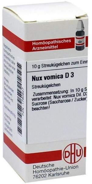 Nux Vomica D3 10 G Globuli