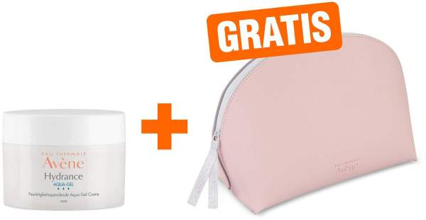 Avene Hydrance Aqua-Gel 50 ml + gratis Kosmetiktasche