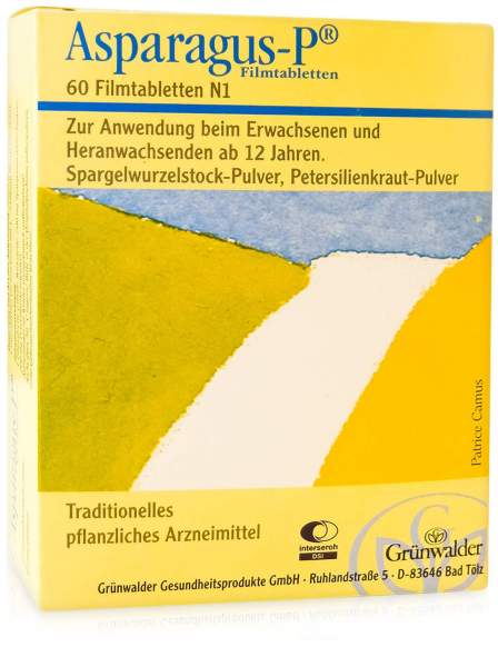 Asparagus P 60 Filmtabletten