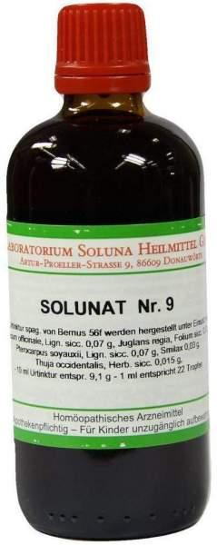 Solunat Nr.9 100 ml Tropfen