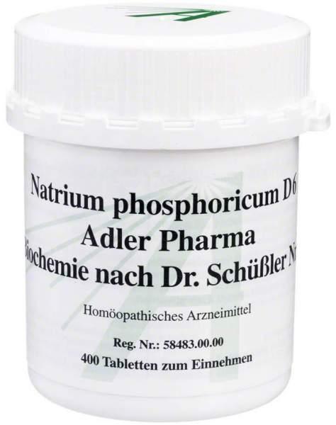 Biochemie Adler 9 Natrium Phosphoricum D 6 400 Tabletten