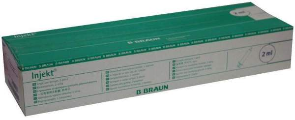 Injekt Solo 2 ml Luer-Ansatz Zentrisch 100 Stück