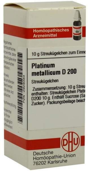 Platinum Metallicum D200 10 G Globuli