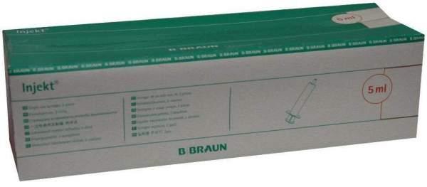 Braun Injekt Solo 5 ml Luer - Ansatz, exzentrisch 100 Spritzen