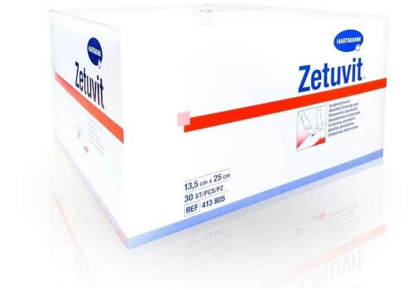 Zetuvit Saugkompresse unsteril 13,5 x 25 cm 30 Stück