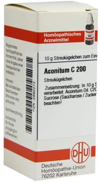 Aconitum C200 10 G Globuli