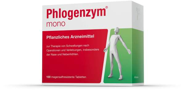 Phlogenzym Mono 100 Magensaftresistente Tabletten