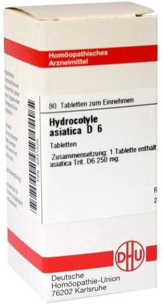 Hydrocotyle Asiatica D 6 Tabletten