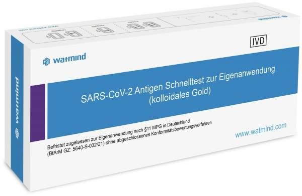 Watmind SARS-CoV-2 Antigen Schnelltest (Speicheltest) 1 Stück