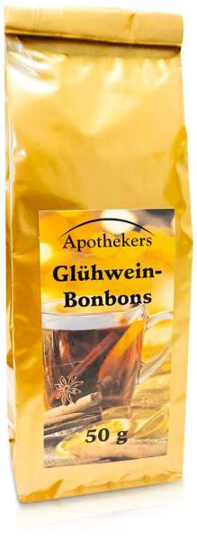 Apothekers Glühweinbonbons 50 G Bonbons