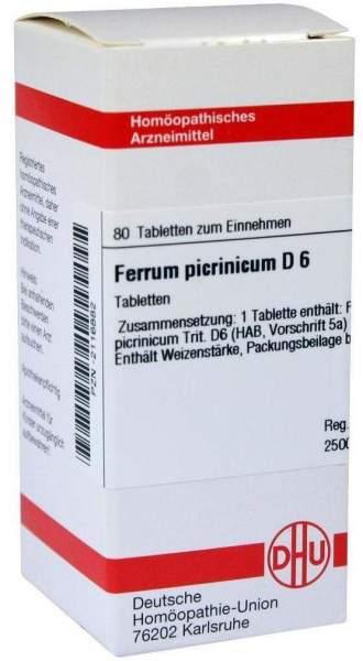 Ferrum Picrinicum D6 80 Tabletten