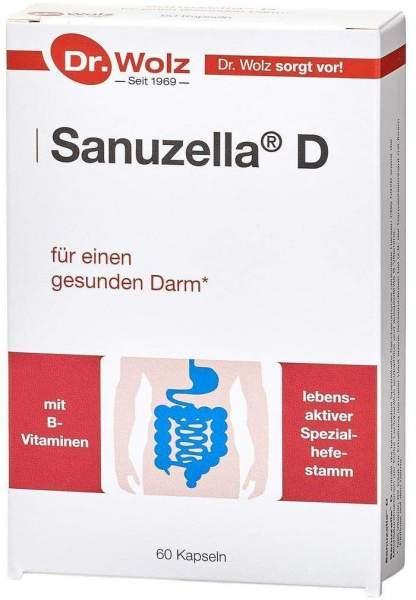 Sanuzella D Zellulose 60 Kapseln