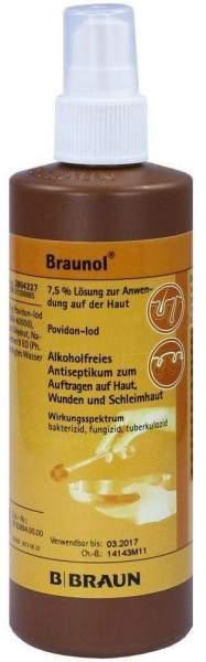 Braunol Schleimhautantiseptikum 250 ml Lösung
