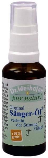 Sänger Öl Dr. Weihofen pur natur 30 ml Sprühflasche