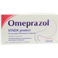 Omeprazol Stada Protect 20 mg Magensaftresistente Tabl