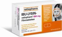 Ibu-Lysin-ratiopharm 684 mg 50 Filmtabletten